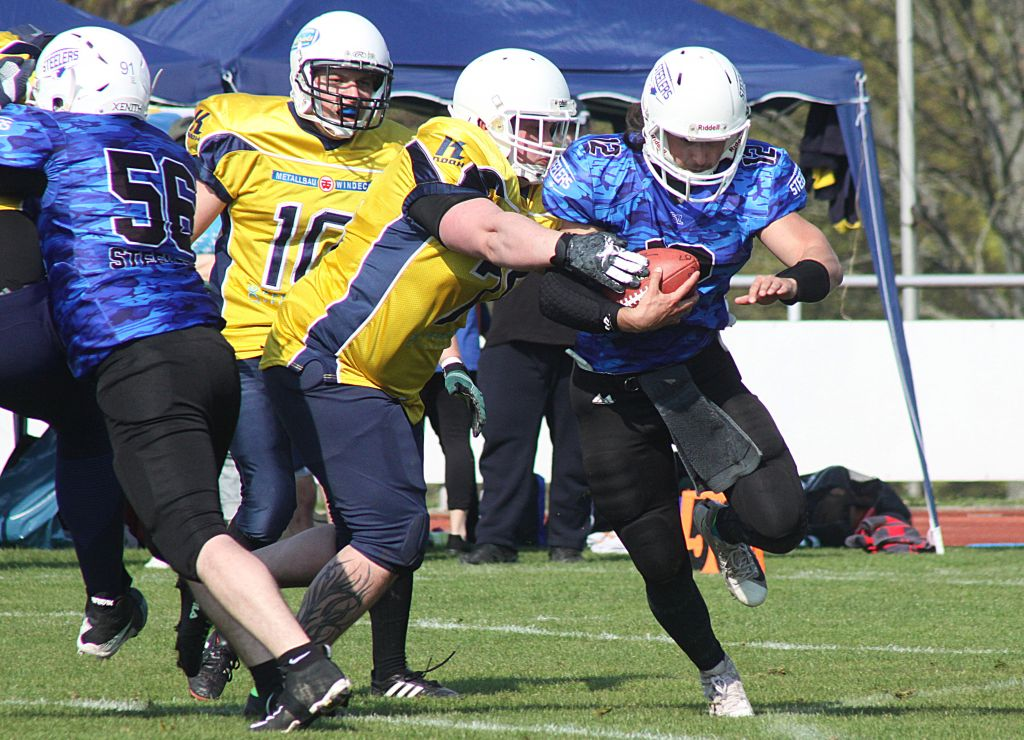 Preseason: Salzgitter Steelers vs Brandenburg Patriots 3:0 06.04.2019